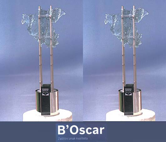 Osvojena dva Bosch Oskara