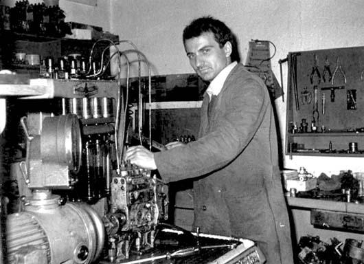 Čedomir Žeravica 1976. godine