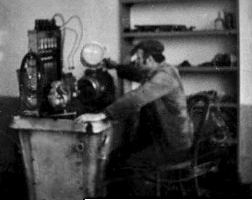 Milivoj Žeravica 1972. u radionici